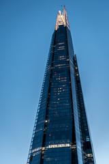 The Shard (stephanrudolph) Tags: architecture architektur london uk gb europe europa england city urban d750 nikon handheld blue house building highrise skyscraper evening 2470mm 2470mmf28g 2470mmf28