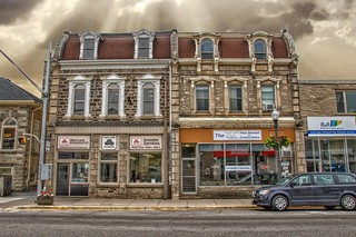 Elora Ontario - Canada - Historic Downtown -