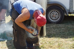 Revesby 2018 farriery Competition (BumPtrott) Tags: farrier revesbyhorseshoes horseshoes