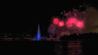 Doux -  le feu d'artifice de Genève 2018