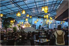 3000-138-TERRAZA DEL HOTEL REX- SAIGÓN - VIETNAM - (--MARCO POLO--) Tags: edificios arquitectura hoteles curiosidades ciudades nocturnas asia