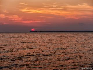 Sunset Over Kent Island
