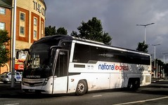 Edwards Levante (Woolfie Hills) Tags: edwards coaches volvo caetano national express