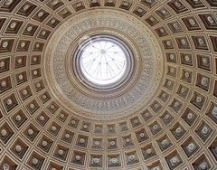 Dome inside the Vatican Museum 06152018 (Orange Barn) Tags: thevaticanmuseum rome italy domeceiling ceiling dome circle round