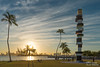 South Pointe Park - Miami Beach (..Javier Parigini) Tags: usa miami miamibeach southbeach florida orlando nikon nikkor d4 2470mm 28 landscape paisaje urbano parque park southpointepark sunset atardecer