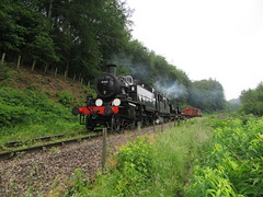 (jbtevans) Tags: dean forest railway steam loco locomotive preserved engine train heritage parkend lydney junction norchard severn wye western midland 41312 ivatt class 2 mickey mouse tank