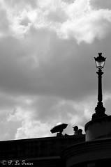 Les rêveries photographiques d'un promeneur solitaire 015 (letexierpatrick) Tags: noiretblanc noir blanc noirblanc black white bw blackandwhite paris france europe extérieur explore pont nuage nikon nikond7000 street