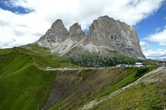 Am Sellajoch in Südtirol