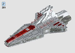 MIDI Scale Venator Star Destroyer instruction - last step (krisandkris12) Tags: lego star wars venator destroyer instructions