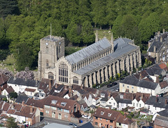 St Mary's Church in Bury St Edmunds - aerial (John D Fielding) Tags: burystedmunds church suffolk above aerial nikon d810 hires highresolution hirez highdefinition hidef britainfromtheair britainfromabove skyview aerialimage aerialphotography aerialimagesuk aerialview drone viewfromplane aerialengland britain johnfieldingaerialimages fullformat johnfieldingaerialimage johnfielding