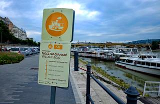 Boat station, Budapest