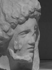 Greek Head (failing_angel) Tags: 010518 london camdenborough bloomsbury britishmuseum museum rodin rodinandtheartofancientgreece sculpture augusterodin pheidias parthenon stele greek