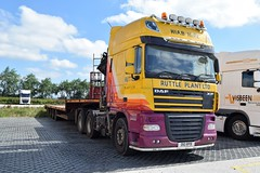DSC_0027 (richellis1978) Tags: truck lorry haulage transport logistics cannock ruttle plant heavy daf xf 105 crane hiab d10rbp