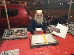 The Quintessential Gemstone seller of Parel (firoze shakir photographerno1) Tags: urusnoorieshahbabaparel sufism rafaees sarkaralibabaismailshahbabadargahparel