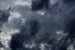 CLOUDS (katyearley) Tags: texas 55mm canonrebelt6 storm rain contrast light blue grey black clouds