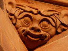 Detail vom Veitsdom / Detail of St. Vitus Cathedral (ursula.valtiner) Tags: veitsdom stvituscathedral gesicht face prag prague tschechien czechrepublic