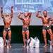 Open Men's Classic Physique 2nd Dan Biehler 1st Adam Mackay 3rd Duane Gonsalves
