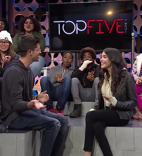 Madison Beer at Top Five Live