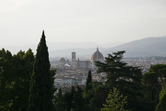 Florecncja widok bazylika san minato al monte (2)