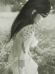 Nature (ησνιѕт) Tags: nature maitreya catwa bento secondlife sl avatar picture cute sexy erotic tattoo sensual flower