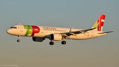 Airbus A321-251N I CS-TJI I TAP (Gustavo H. Braga) Tags: airbus a321neo aviation airplanes airport aviação aviacao aviao aeronaves aeroporto goldenhour lisbon tap tapairportugal