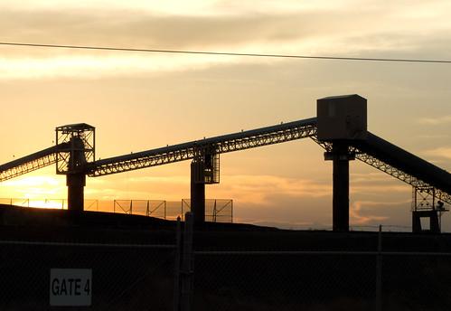 The Sun Sets on Coal