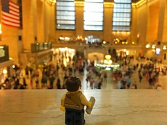 A Grand entrance (216/365) (robjvale) Tags: searching newyork grandcentralstation project365 lego adventurerjoe iphone