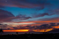 Wailea Sunset (maltman_john) Tags: maui sunset wailea pacific ocean clouds colors nikon d5300 wide angle tokina