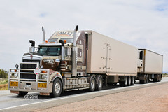 Smith Haulage - Kenworth T909 (Bourney123) Tags: kenworth t909 smith truck trucks trucking highway haulage portaugusta diesel interstate