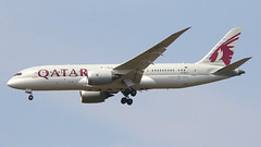 IMG_6755 A7-BCJ (biggles7474) Tags: egkk lgw london gatwick airport a7bcj boeing 787 b788 b7878 qatar airways name al mshrefa