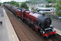 45699 Galatea (Hesterjenna Photography) Tags: lms stanier jubilee 45699 galatea fellsman cumbria settle rail railwaystation engine steamengine steam appleby cumberland trainstation train