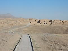 The partially restored Nisa (Beth M527) Tags: unesco worldheritagesites ashgabat turkmenistan centralasia 2018 parthianfortressesofnisa antiquities ruins silkroad
