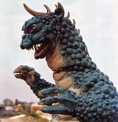 Gabara closeup from Godzilla's Revenge (1969) (gameraboy) Tags: godzilla kaiju allmonstersattack godzillasrevenge 1965 1960s vintage film movie