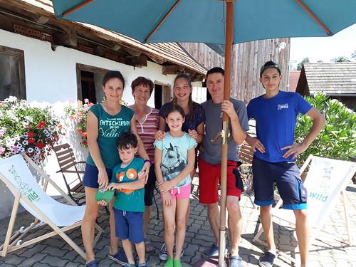 Sonne bei Familie Wild