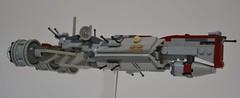 C-70 ''Retrofit'', vue de profil (Pierre MiniBricks) Tags: lego star wars mini moc corvette pierre minibricks