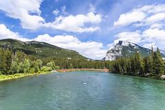 Here With Me (_city_of_broken_dreams_) Tags: nikon nikond750 d750 alberta canada banff nationalpark canadianrockies landscape mountain river bridge trees travel nature