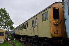 Class 501 75186, Electric Railway Museum, 10/09/2017 (Headcode) Tags: emu class501 75186 61183 m75186 m61183 wgp8809 cg croxleygreen croxleygreendepot sandite merseyside br britishrail undercoat mod marchwoodmilitaryrailway dmbs dtbs generalelectriccompany gec 630vdc thirdrail electric suburban electricrailwaymuseum erml rowleyroad baginton coventry coventryairport coventryairfield warwickshire england britain gb uk train rail railway railways museum openday 10sep2017 10092017 9102017 dsc2628 ©robertchilton