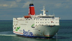 18 08 10 Stena Europe arriving Rosslare (18) (pghcork) Tags: stenaline ferry ferries carferry stenaeurope ireland wexford rosslare ships shipping