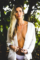 In The Forest (bradturnerphotography) Tags: glamour photography photographer goldcoast beach australia model modelphotography white underwear