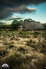 Barn (Grille1991) Tags: germany niedersachsen pentax pentaxart adobe adobelightroom blau clouds heide himmel landscape lightroom outdoor sky twop wolken heathlandscape heathland