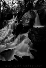 Cascade Castle (KellyShipp) Tags: cascadecastle cascades waterfall waterfalls waterscape water stream woollyhollowstatepark arkansas blackandwhite longexposure nikon nikonflickraward