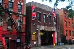 Engine 221 · Ladder 104 (Triborough) Tags: ny nyc newyork newyorkcity kingscounty brooklyn williamsburg fdny newyorkcityfiredepartment firehouse