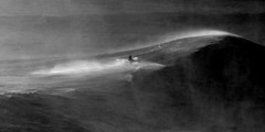 checking out a monster (walterpeitz) Tags: nazare bw waves portugal monsterwaves