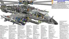 Figure 18: LACH Mechanics Overview (Gabor Pauler) Tags: tlg lego technic legotechnic light attack compound helicopter rotary gun sidewinder aamram hellfire lau tow
