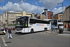 Edwards Coaches BU18OTL (welshpete2007) Tags: edwards coaches volvo caetano 111 bu18otl