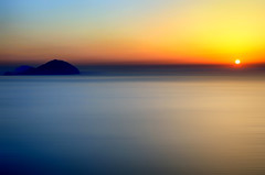 The Carpet Crawlers (Gio_guarda_le_stelle) Tags: sunset genesis italy islands wind quiet peaceful melody tramonto water sea seascape eolie isole italia vista view