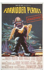 Postcrossing US-5476169 (booboo_babies) Tags: movie sciencefiction scifi 1950s 1956 robot film advertisement space poster postcrossing