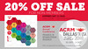 ACRM Annual Conference #ACRM2018 20% OFF SALE for nonmembers