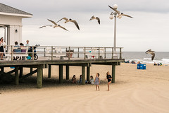 Picnic on the Beach - Ocean Grove (mcmessner) Tags: beach boardwalk fineart newjersey og oceangrove streetphotography travel travelphotography usa us