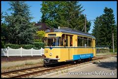 33-2018-07-30-3-Berliner Straße (steffenhege) Tags: woltersdorf woltersdorferstrasenbahn tram tramway strasenbahn streetcar gothawagen t57 t57m 33
